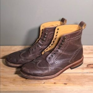 Stacy Adams | Brogue Leather Boots